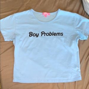 🗣SALE🚨boy problems graphic tee
